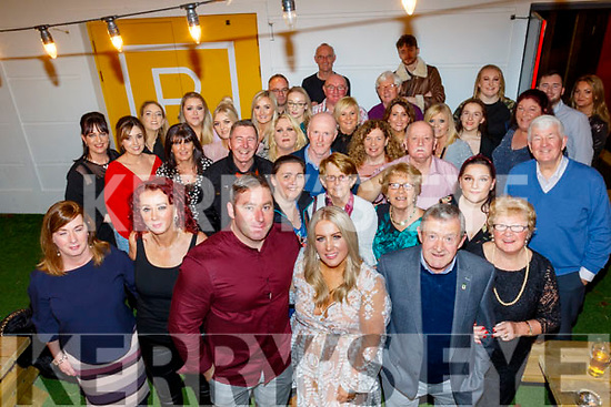 Stephanie Dowling from Tralee, front centre, had a fab night in Benners hotel, Tralee, celebrating her 40th birthday last Saturday along with many family and guests.