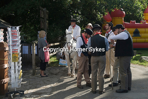 Widecomb Fair, Widecombe in the Moor, Dartmoor, Devon Uk.  Uncle Tom Cobley and All.