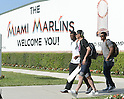 Ichiro Suzuki (Mariners),<br /> MARCH 5, 2015 - MLB : Ichiro Suzuki of the Miami Marlins after the Major League Baseball spring training game at Roger Dean Stadium, Jupiter, Florida, United States.<br /> (Photo by AFLO)