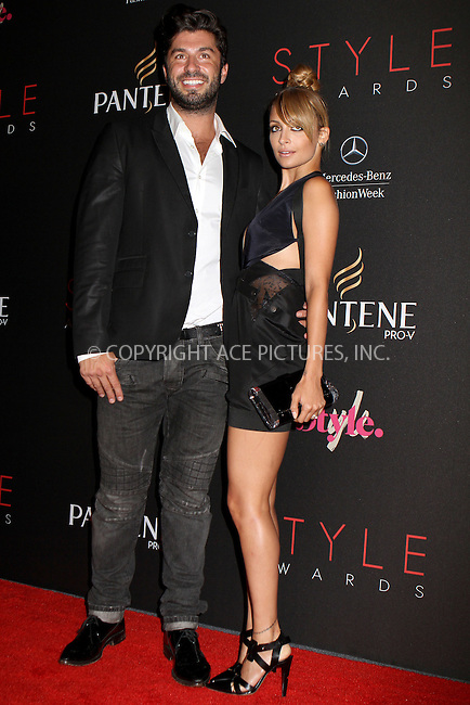 WWW.ACEPIXS.COM....September 5, 2012, New York City, NY.......Andy Lecompte and Nicole Richie arriving at the 9th Annual Style Awards at Lincoln Center on September 5, 2012 in New York City.........By Line: Nancy Rivera/ACE Pictures....ACE Pictures, Inc..Tel: 646 769 0430..Email: info@acepixs.com