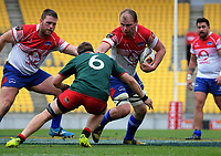 William Lander in action during the Heartland Championship rugby match between Horowhenua Kapiti and Wairarapa Bush at Westpac Stadium in Wellington, New Zealand on Sunday, 1 October 2017. Photo: Dave Lintott / lintottphoto.co.nz