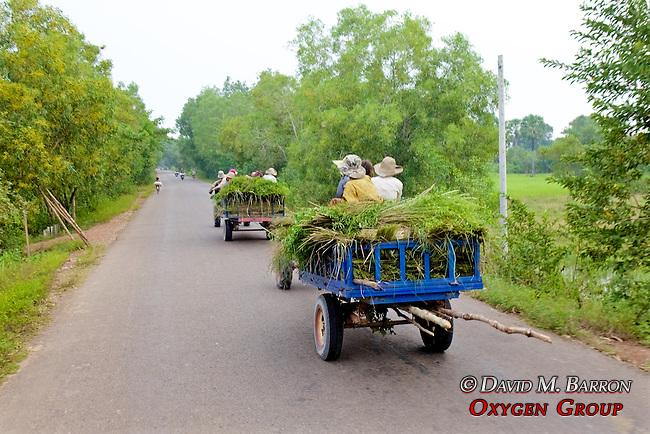 Farmers Transporting Goods