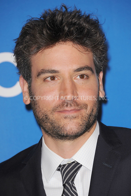 WWW.ACEPIXS.COM . . . . . .May 16, 2012...New York City....Josh Radnor attends the 2012 CBS Upfronts at The Tent at Lincoln Center on May 16, 2012 in New York City.on May 16, 2012  in New York City ....Please byline: KRISTIN CALLAHAN - ACEPIXS.COM.. . . . . . ..Ace Pictures, Inc: ..tel: (212) 243 8787 or (646) 769 0430..e-mail: info@acepixs.com..web: http://www.acepixs.com .