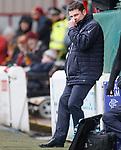 31.3.2018: Motherwell v Rangers: <br /> Graeme Murty
