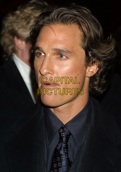 MATTHEW McCONNAUGHEY.How To Lose A Guy In 10 Days Film Premiere afterparty.www.capitalpictures.com.©Capital Pictures