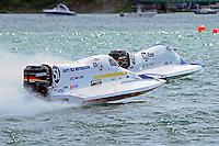 26  July, 2009, Trenton, Michigan USA.Mark Welch (#95) and Erick Barnes (#51).©2009 F.Peirce Williams USA.SST-120 class