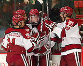 Kyle Criscuolo (Harvard - 11), Danny Biega (Harvard - 9), Jimmy Vesey (Harvard - 19), Brian Hart (Harvard - 39) - The Harvard University Crimson defeated the visiting Rensselaer Polytechnic Institute Engineers 4-0 (EN) on Saturday, November 10, 2012, at Bright Hockey Center in Boston, Massachusetts.