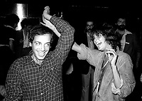 1978 <br /> New York City<br /> Steve Rubell with Ali McGraw at Studio 54<br /> CAP/MPI/PHI<br /> &copy;MPI67/Capital Pictures