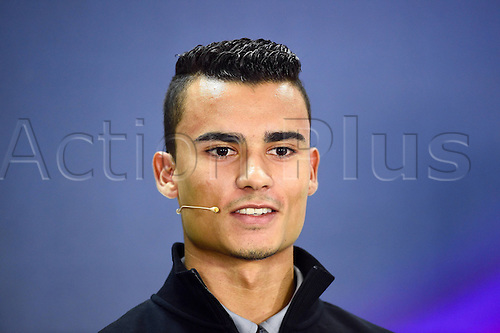 01.04.2016. Bahrain. FIA Formula One World Championship 2016, Grand Prix of Bahrain, Practise day.  Pascal Wehrlein, Manor Team, formula 1 GP at the press conference