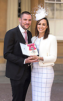 19 April 2017 - London, England - Dame Jessica Ennis Hill and Husband Andy Hill. Investitures at Buckingham Palace. Photo Credit: Alpha Press/AdMedia