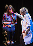 Patient Joyce, played by Joyce Trombley, and Doctor Linda, played by Linda Mitchell, perform during the Sheep Dip 53 Show at the Eldorado Hotel & Casino on Friday night, Jan. 13, 2017.