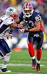 28 December 2008: Buffalo Bills' wide receiver Lee Evans in action against the New England Patriots at Ralph Wilson Stadium in Orchard Park, NY. The Patriots kept their playoff hopes alive defeating the Bills 13-0 in their 16th win against Buffalo of their past 17 meetings. ***** Editorial Use Only ******..Mandatory Photo Credit: Ed Wolfstein Photo