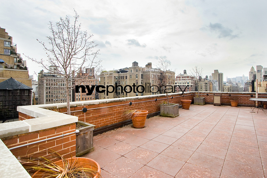 Roof Deck at 35 East 85th Street