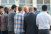 The Prince of Wales visits the Muslim Welfare House after its memebers sufered a terror strike in Finsbury Park. <br /> CAP/CAM<br /> &copy;Andre Camara/Capital Pictures /MediaPunch ***NORTH AND SOUTH AMERICAS ONLY***