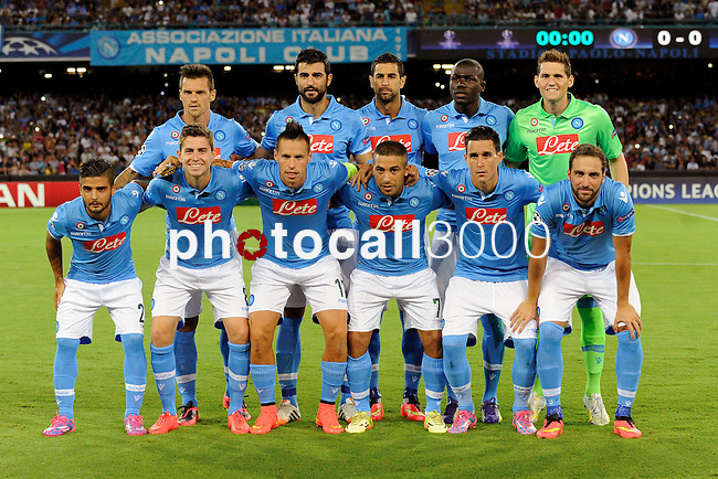 Team of Napoli poses before the match between SSC Napoli and Athletic Club Bilbao, play-offs First leg Champions League at the San Paolo Stadium onTuesday August 19, 2014 in Napoli, Italy. (Photo by Marco Iorio)<br /><br /><br /> <br /><br /><br /><br /><br /><br /><br /><br /><br /><br /><br /><br /><br /><br /><br /><br /><br /><br /><br /><br /><br /><br /><br /><br /><br /><br /><br /><br /><br /><br /><br /><br /><br /><br /><br /><br /><br /><br /><br /><br /><br /><br /><br /><br /><br /><br /><br /><br /><br /><br /><br /><br /><br /><br /><br /><br /><br /><br />)