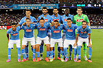 Team of Napoli poses before the match between SSC Napoli and Athletic Club Bilbao, play-offs First leg Champions League at the San Paolo Stadium onTuesday August 19, 2014 in Napoli, Italy. (Photo by Marco Iorio)<br />
