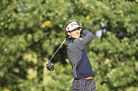 Pedro Oriol (ESP) on the 4th tee during Round 2 of the Sky Sports British Masters at Walton Heath Golf Club in Tadworth, Surrey, England on Friday 12th Oct 2018.<br /> Picture:  Thos Caffrey | Golffile<br /> <br /> All photo usage must carry mandatory copyright credit (&copy; Golffile | Thos Caffrey)