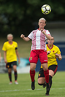 Cara Breckenridge of Stevenage Ladies during the pre season friendly match between Stevenage Ladies FC and Watford Ladies at The County Ground, Letchworth Garden City, England on 16 July 2017. Photo by Andy Rowland / PRiME Media Images.