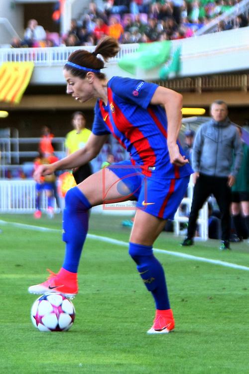 UEFA Women's Champions League 2016/2017.<br /> Semifinals.<br /> FC Barcelona vs Paris Saint Germain: 1-3.<br /> Vicky Losada.