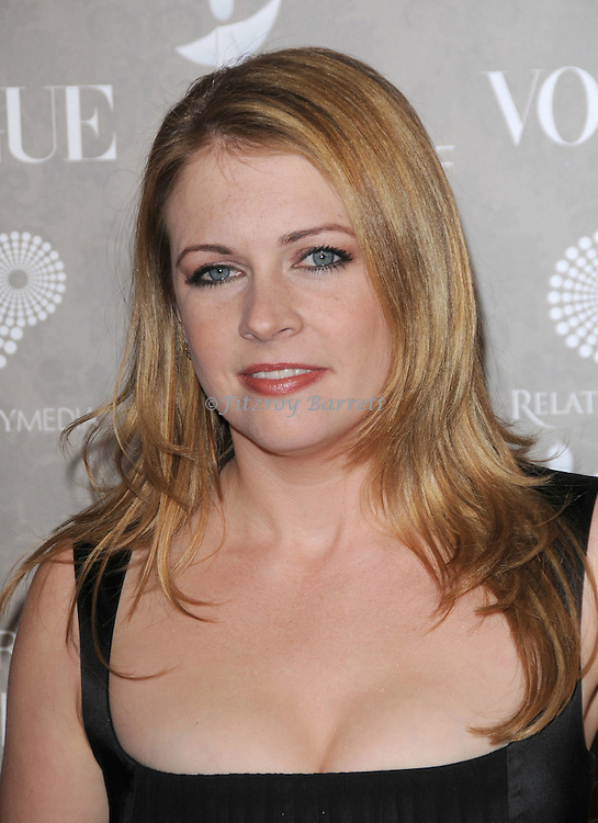 "Melissa Joan Hart arriving at The Art of Elysium 2nd Annual Black Tie Charity Gala ""Heaven"" held at The Vibiana  Los Angeles, Ca. January 10, 2009. Fitzroy Barrett"
