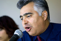 WPS & MLS Farsi language broadcaster Behrooz Afrakhan. The Boston Breakers and LA Sol played to a 0-0 draw at Home Depot Center stadium in Carson, California on Sunday May 10, 2009.   .