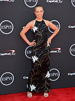Rose Namajunas at the 2018 ESPY Awards at the Microsoft Theatre LA Live, Los Angeles, USA 18 July 2018<br /> Picture: Paul Smith/Featureflash/SilverHub 0208 004 5359 sales@silverhubmedia.com