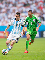 Nigeria vs Argentina, June 25, 2014