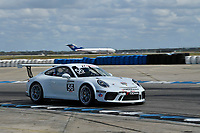Porsche GT3 Cup Series<br /> Sebring February Test<br /> Sebring International Raceway, Sebring, Florida, USA<br /> Wednesday 21 February 2018<br /> #56 Topp Racing, Porsche 991 / 2018, GT3P: David Baker (M)<br /> World Copyright: Richard Dole<br /> LAT Images