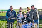 "DUFFER: Dreamer winning dog winner of the Ballyheigue who won 2 Course Duffer Stakes and Pat Flahive Memorial Trophy & Cup on Sunday with her sponsors presented the owners. with the 2 cse duffer Trophy and cup on Sunday at Ballyheigue Coursing. Pat McElligott (Nominator), Annmarie Rose Rogers, Jack, Nathan, Mary Flahiver presenting the memorial Cup and Fenton Rogers...CHAMPION DOG: ""FARRAN DELIGHT"" champion dog with is owners and trainer and owners been presented with the White Sands Hotel Cup & Paddy Reidy Memorial Trophy after she won the White Sands Hotel Cup & Paddy TReidy Trophy of ther day at Ballyheigue Coursing, on Sunday. Jonathan Besty (trainer), Jeremiah Hanafin and Mike Collins (ownetrs), L-r: Michael Anthony Reridy, Jonathan Best, Michael Collins, Tom Joe Hayes, Jerry Hannifin, Jimmy Bowne (Sponsor), at the Ballyheigue Coursing and nominator John Reidy. Front Lucas McCarthy..."