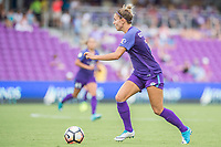 Orlando, FL - Saturday June 24, 2017: Steph Catley during a regular season National Women's Soccer League (NWSL) match between the Orlando Pride and the Houston Dash at Orlando City Stadium.