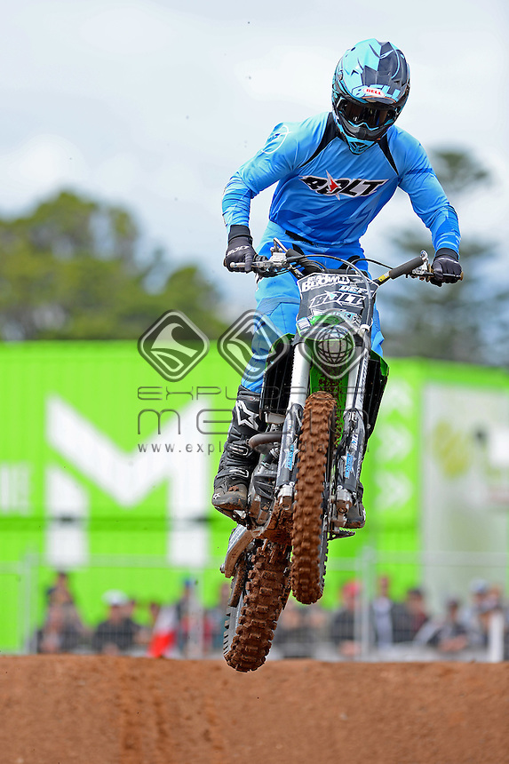 Speed &amp; Style / Ryan Brown (AUS)<br /> Australian FMX Grand Prix at the <br /> Australian F1 GP / Albert Park<br /> March 17th - 20th 2016<br /> &copy; Sport the library / Jeff Crow