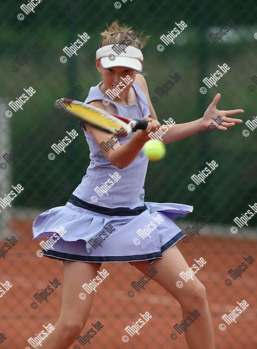 2008-09-07 / Tennis / Feest van de jeugd 2008 / Lieselot Rommelaere..Foto: Maarten Straetemans (SMB)