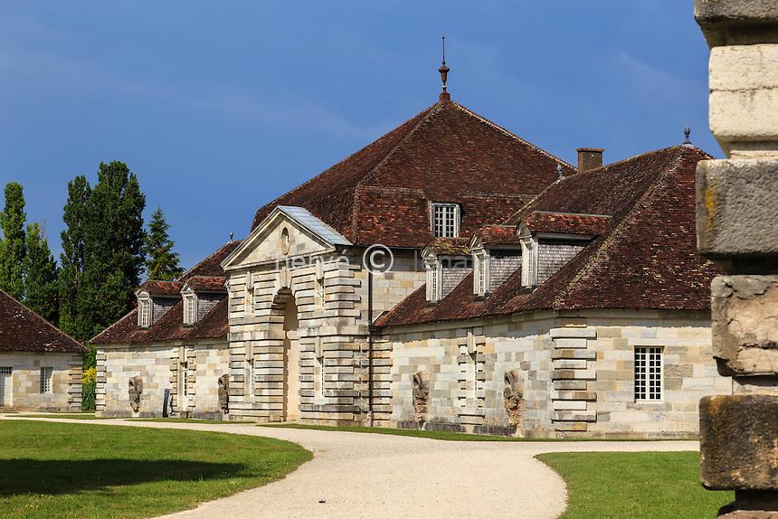 France, Doubs (25, Arc-et-Senans, saline royale d'Arc-et-Senans, classé patrimoine mondial de l'UNESCO // France, Doubs, Arc et Senans, Royal Saltworks at Arc et Senans, listed as World Heritage by UNESCO