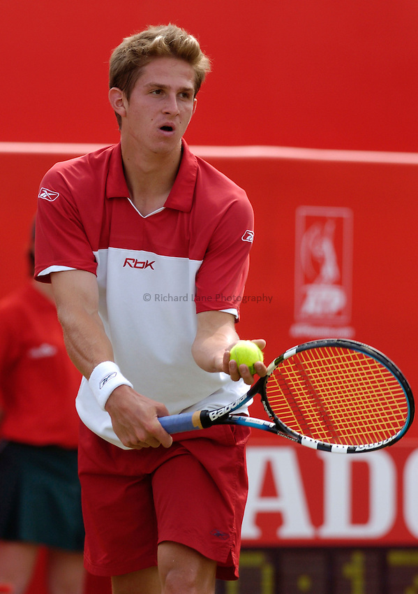 Photo: Richard Lane..The Stella Artois Championship at Queens. 08/06/2004..Igor Andreev