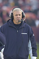 18 December 2005: Cowboys Coach Bill Parcells (Tuna)..The Washington Redskins defeated the Dallas Cowboys 35-7  at FedEx Field in Landover, MD.