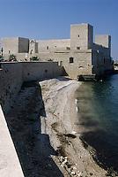 Europe/Italie/La Pouille/Trani: le Chateau