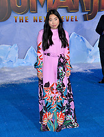 """LOS ANGELES, USA. December 10, 2019: Awkwafina at the world premiere of """"Jumanji: The Next Level"""" at the TCL Chinese Theatre.<br /> Picture: Paul Smith/Featureflash"""