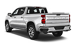 Car pictures of rear three quarter view of 2019 Chevrolet Silverado-1500 RST 4 Door Pick-up Angular Rear