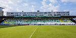 Stockholm 2013-06-23 Fotboll Superettan , Hammarby IF - &Auml;ngelholms FF :  <br /> Hammarby Bajen supportrar tifo p&aring; Norra l&auml;ktaren inf&ouml;r den sista matchen p&aring; S&ouml;derstadion <br /> (Foto: Kenta J&ouml;nsson) Nyckelord:  supporter fans publik supporters