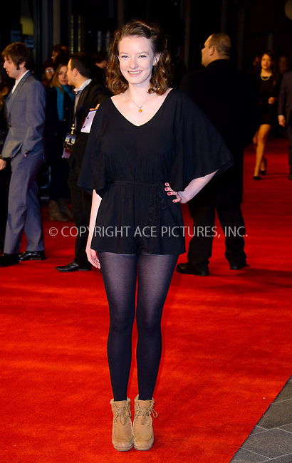 WWW.ACEPIXS.COM....US Sales Only....March 19 2013, London....Dakota Blue Richards at the World premiere of 'Trance' held at the Odeon West End on March 19 2013  in London ....By Line: Famous/ACE Pictures......ACE Pictures, Inc...tel: 646 769 0430..Email: info@acepixs.com..www.acepixs.com