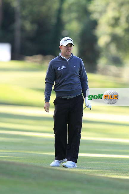 Richie Ramsay (SCO) on the 7th fairway during Round 3 of the Open de Espana  in Club de Golf el Prat, Barcelona on Saturday 16th May 2015.<br /> Picture:  Thos Caffrey / www.golffile.ie
