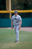 Dartmouth Big Green coach David Vandercook (25) during a game against the USF Bulls on March 17, 2019 at USF Baseball Stadium in Tampa, Florida.  USF defeated Dartmouth 4-1.  (Mike Janes/Four Seam Images)