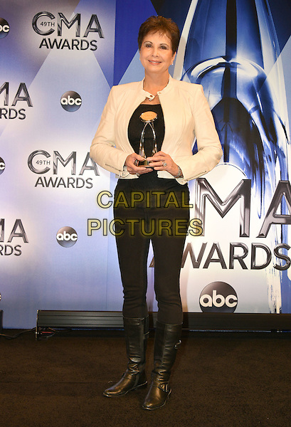 04 November 2015 - Nashville, Tennessee - Nancy Jones. 49th Annual CMA Awards, CMA Awards 2015, Country Music's Biggest Night, held at Bridgestone Arena. <br /> CAP/ADM<br /> &copy;ADM/Capital Pictures