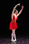English National Ballet. Emerging Dancer competition 2013. Queen Elizabeth Hall. Shiori Kase.