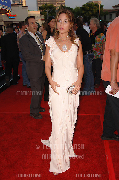 """Actress ELIZABETH RODRIGUEZ at the world premiere, in Los Angeles, of her new movie """"Miami Vice."""".July 20, 2006  Los Angeles, CA.© 2006 Paul Smith / Featureflash"""