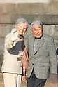 Emperor Akihito and Empress Michiko visit the Hayama Imperial Villa