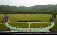 Beijing Shooting Range CTF. Olympic Venues<br /> Olimpiadi Pechino 2008. Impianto Giochi Olimpici<br /> Foto Cspa/Insidefoto