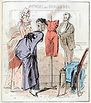 Illustration by A Grevin in 'Le Petit Journal Pour Rire', No.34, 1870<br />