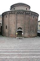 Veduta esterna della Rotonda di San Lorenzo, a Mantova.<br /> Exterior of the Rotonda di San Lorenzo, in Mantua.<br /> UPDATE IMAGES PRESS/Riccardo De Luca