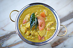 BROOKLYN, NY - FEBRUARY 11, 2014: Royal Korma, a curry dish at Dosa Royale in Cobble Hill. CREDIT: Clay Williams for Dosa Royale.<br /> <br /> &copy; Clay Williams / http://claywilliamsphoto.com